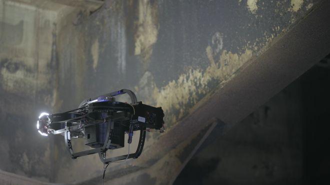 Drone og algoritmer kutter mange dagers inspeksjon til få timer