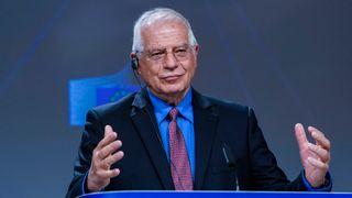 Utenrikssjef Josep Borrell presenterte onsdag EUs skjerpede innsats for å bekjempe desinformasjon om koronaviruset.
