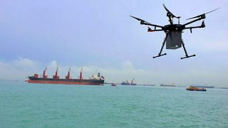 3D-printer reservedeler og sender med droner