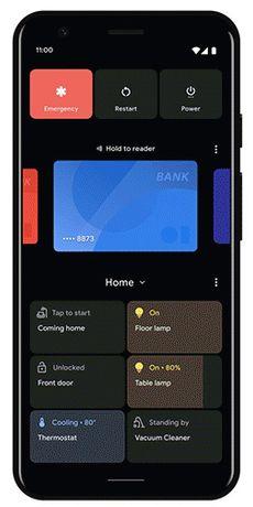 «Lommeområdet» i Android 11 inneholder objekter som skal være ekstra lett tilgjengelige for brukeren.