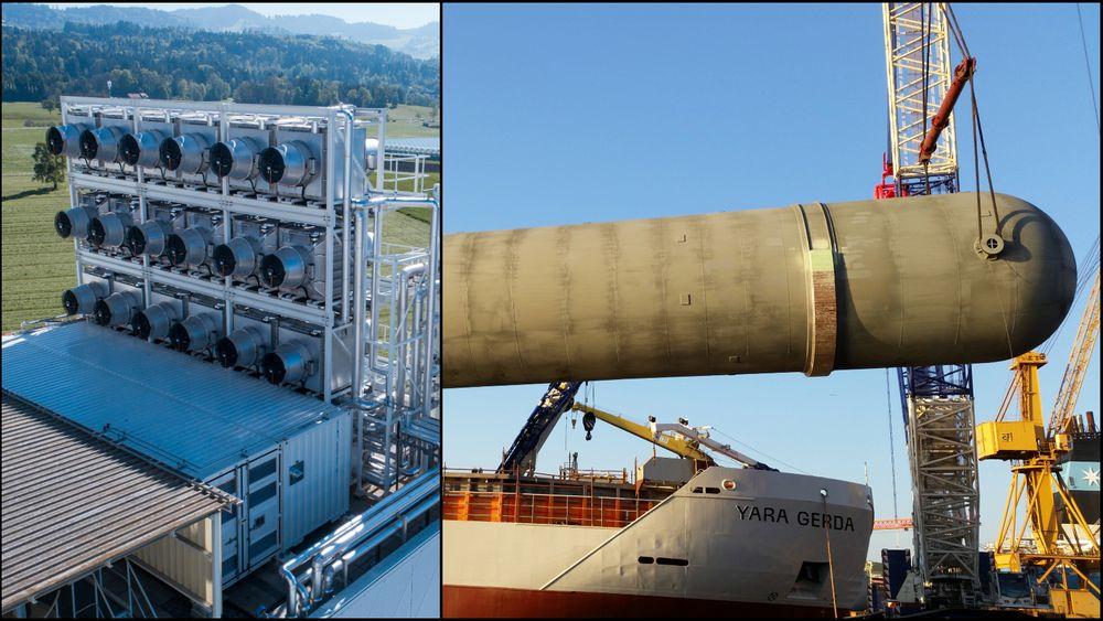 Sveitsiske Climeworks har teknologi for å fange CO2 fra luft. Dette er foreløpig dyrt og svært energikrevende, men Norsk e-Fuel tror det kan bli konkurransedyktig på sikt. I Norge selger Nippon Gases CO2 fanget fra Yara i Porsgrunn for under en tredel av prisen.