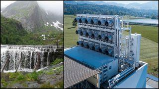 Skal lage drivstoff av CO2 og vann: Leter etter steder med innestengtkraft i Nord-Norge