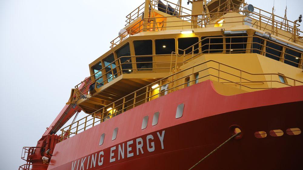 Viking Energy kan bli verdens første skip som bruker ammoniakk og brenselceller for nullutslipps drift.