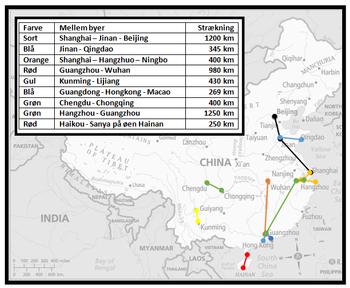 Utbygging av magnettog i Kina