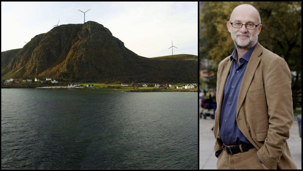 – De har lov til å bygge,rettslig sett, men det betyr ikke at de ikke kan tenke seg om, sier Anders Bjartnes i Norsk Klimastiftelse. Han er tilhenger av vindkraft, men mener Haramsøya er et uklokt prosjekt.