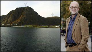 Vindkrafttilhenger ber eierne droppe Haramsøya: Mye bråk for lite strøm