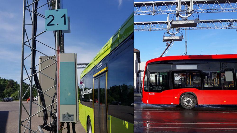 Ulikheter i ladeteknologi og standard har vært utfordrende for Norgesbuss som opererer en rekke ulike elbusser.