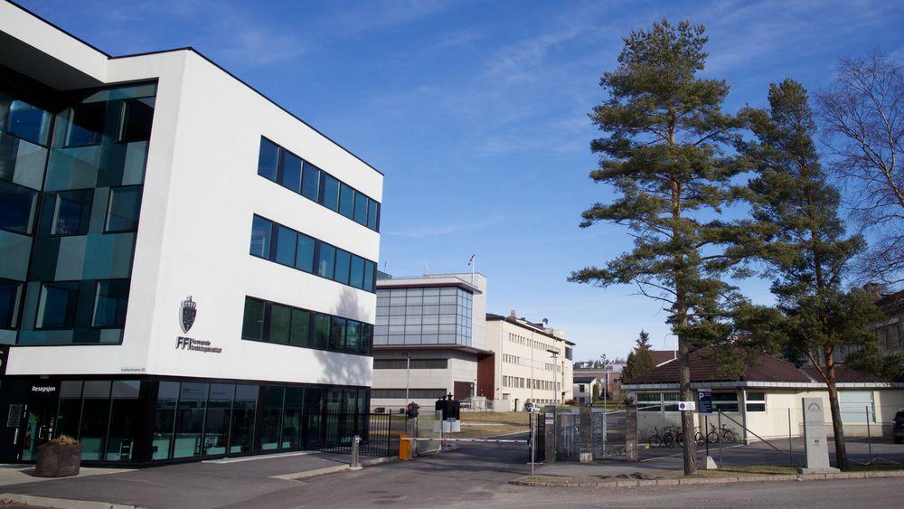 FFIs hovedkontor på Kjeller.