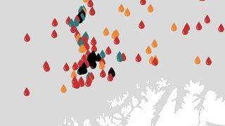 Bare 2 prosent av letingen i Barentshavet har ført til utbygging i de omstridte områdene