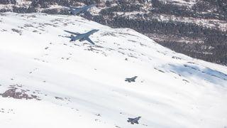 Tordenrein viste at norske F-35 er i stand til å yte jagerflystøtte for soldatene på bakken