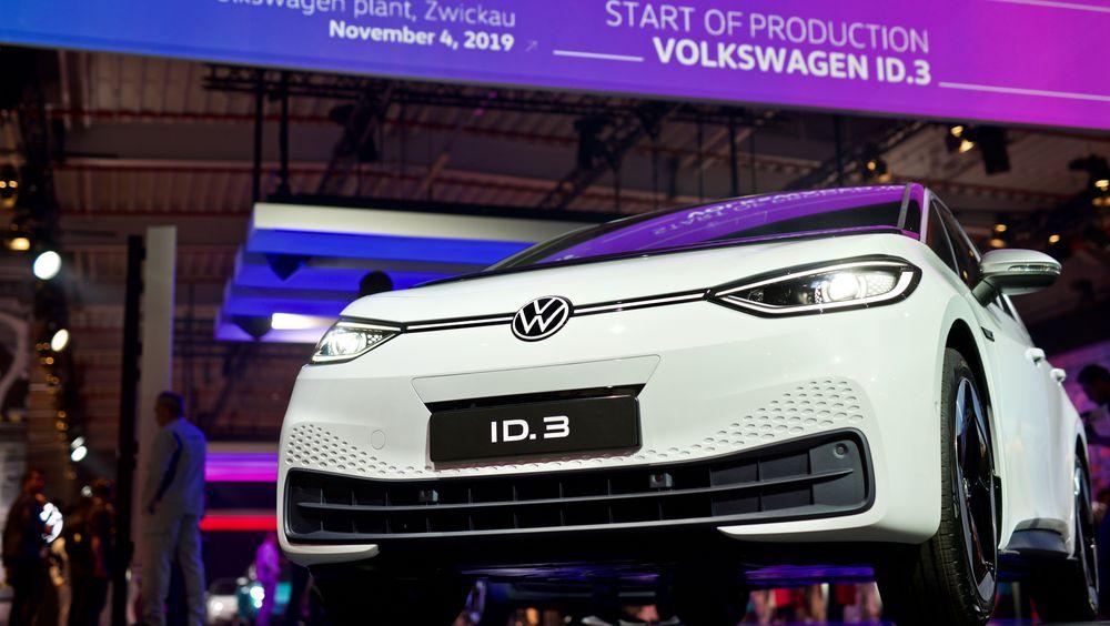Volkswagen har startet salget av ID.3.