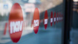 Nav-logo på fasade