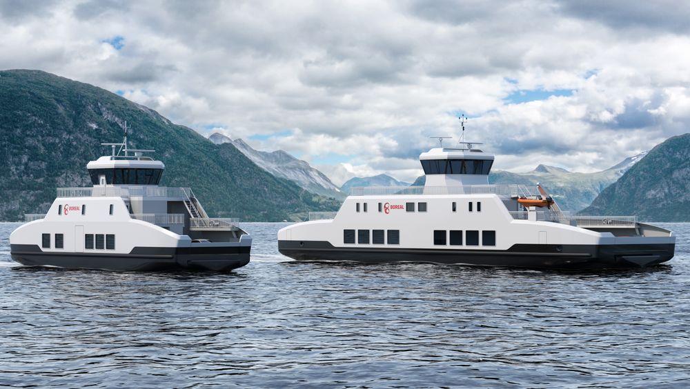 Wärtsilä har designet to små ferger for Boreal Sjø. Kontrakten omfatter også store utstyrsleveranser.