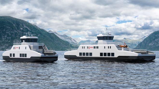 Neste år leverer Wärtsilä sine to første el-ferger