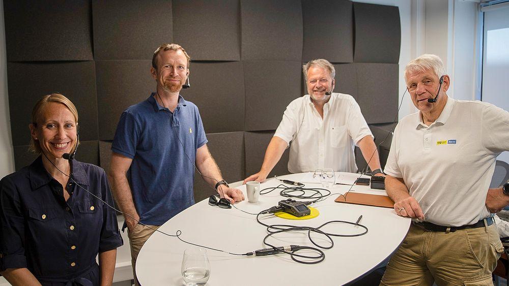 Hydrogen på agendaen: Generalsekretær, Ingebjørg Telnes Wilhelmsen og forskningsleder ved Sintef Industri, Magnus Skinlo Thomassen mener tiden er inne for å få ut hydrogenfingeren