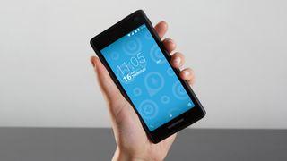 Smartmobilen Fairphone 2, som ble lansert i 2015.