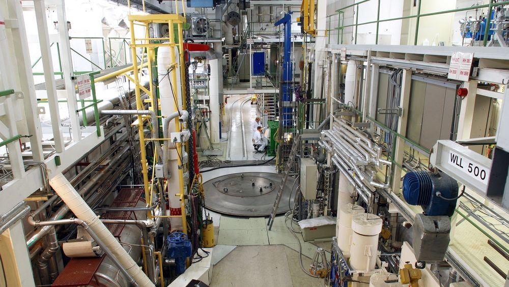 Den kanadiske kunden fikk testet materialer til atomreaktorer i her Haldenreaktoren.