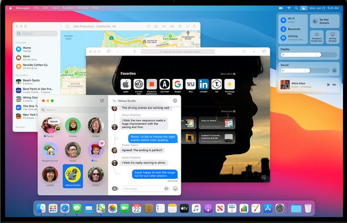 Mac OS «Big Sur» blir det første Mac-operativsystemet som støtter de nye Arm-baserte Apple-prosessorene.