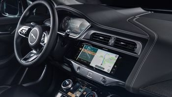 Jaguar I-Pace får helt nytt infotainmentsystem.