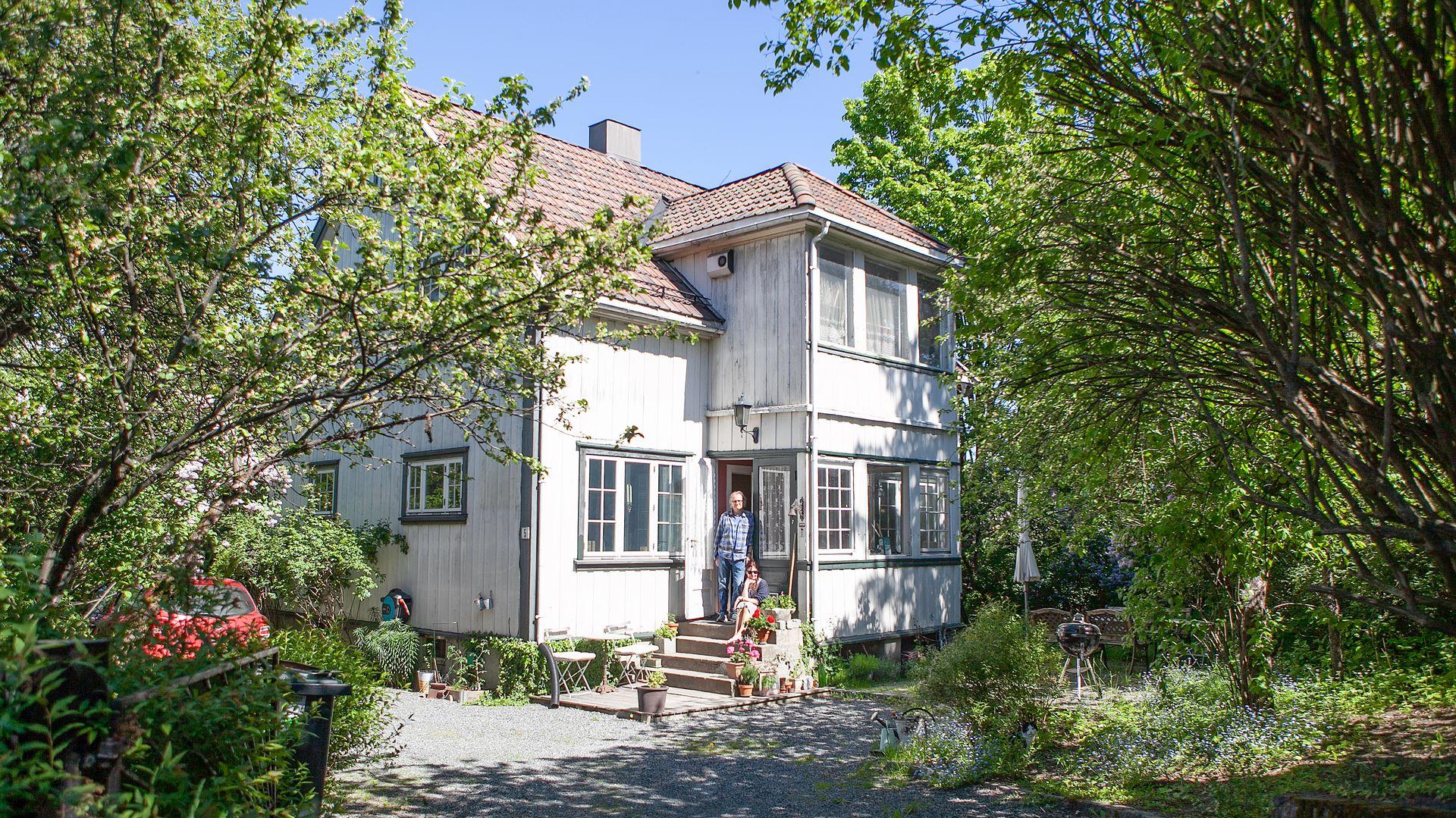 I 2016 fikk ekteparet Inger Frogg Jørgensen og Pål Herman Christiansen beskjed om at huset deres måtte rives på grunn av E18-utbyggingen.