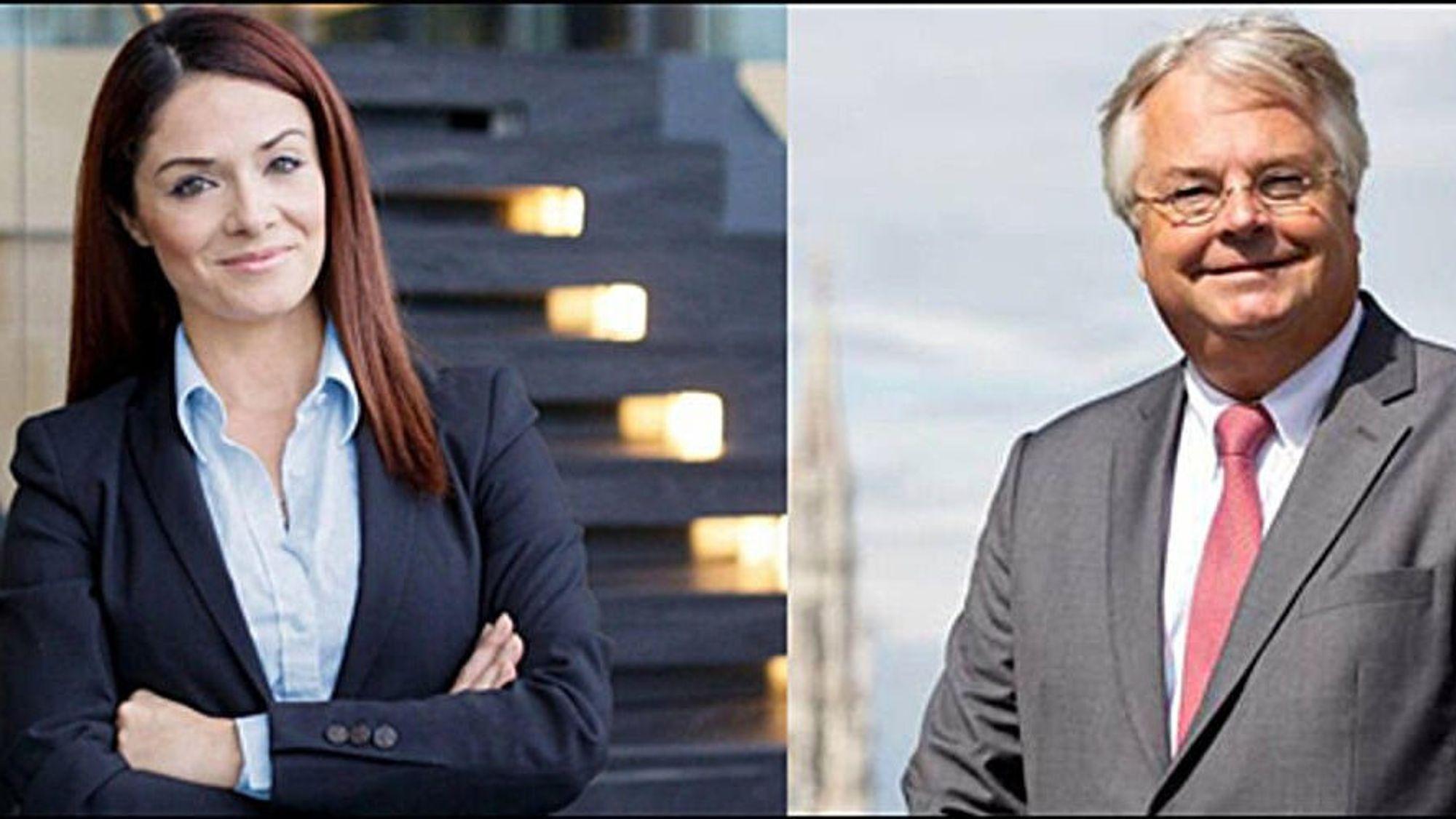 Miriam Dalli og Eric-Mark Huitema er foredragsholderne i torsdagens webinar.