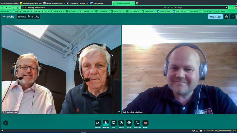 Vi snakker med salgssjef  Leif Tore Rytterbakken i Weber for å bli oppdatert på grilling og ny teknologi som assisterer tilberedningen av