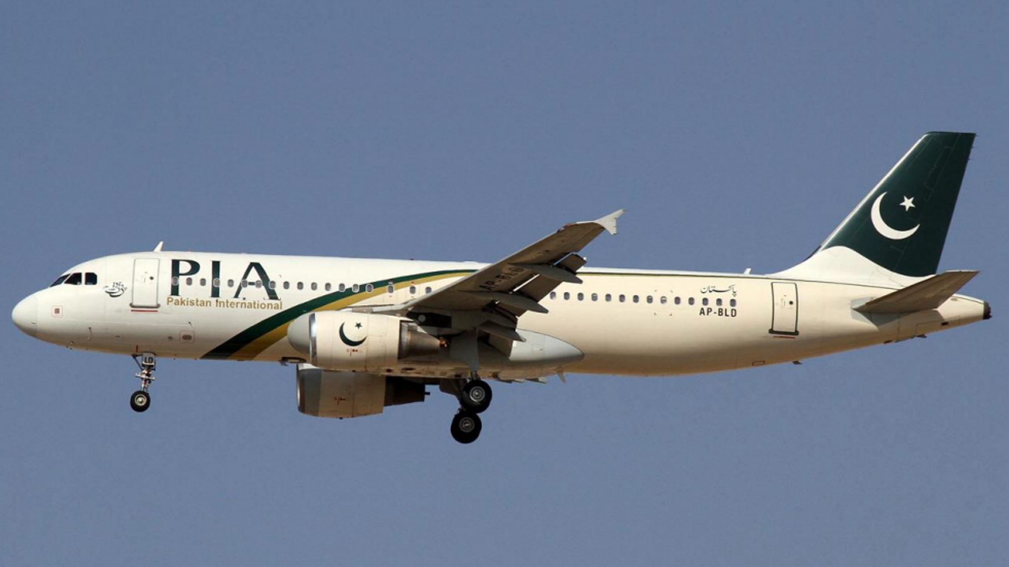 Det var dette flyet som styrtet like ved flyplassen i Karachi i Pakistan 22. mai.