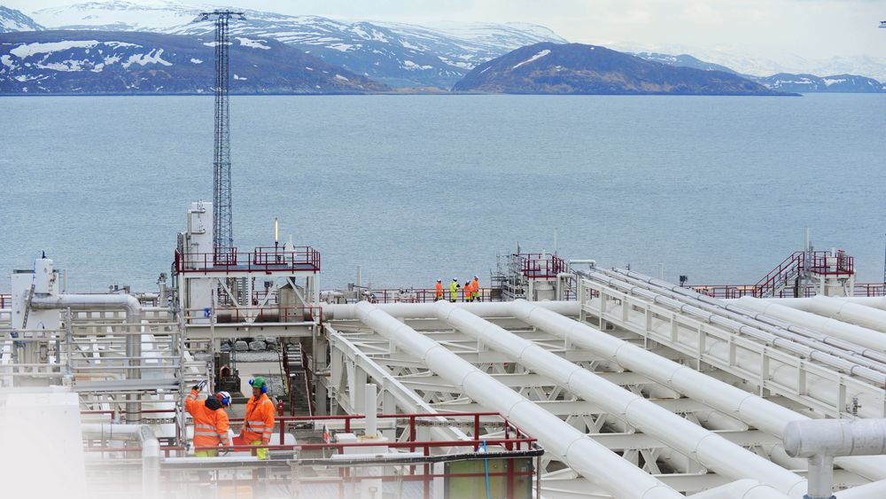 Equinors anlegg på Melkøya i Hammerfest.