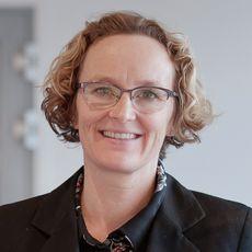 Merete Asak, teknologidirektør i Cisco. Bildet er tatt i Ciscos lokaler på Lysaker.