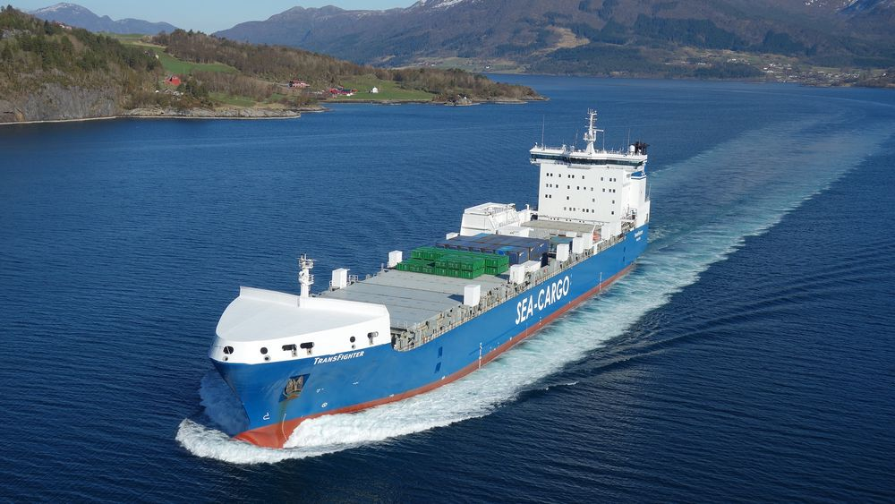 TransFighter er att av  skipene Sea-Cargo-eier Seatrans gjerne vil  bygge om til plug-in hybrid.