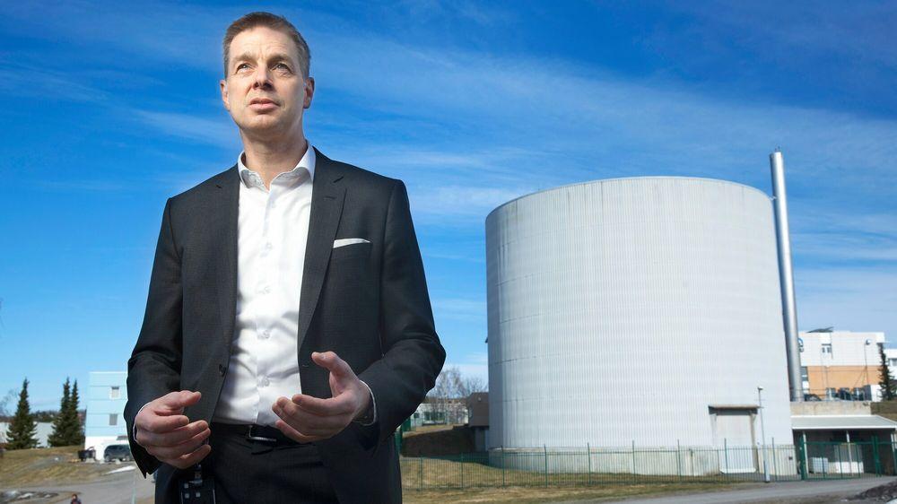 Administrerende direktør i Institutt for energiteknikk (Ife), Nils Morten Huseby, tror fallet i oljeetterspørsel som følge av koronakrisen, kan ha ført verden over oljetoppen.