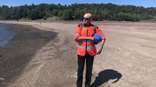 Langøyene avfallsdeponi i Oslofjorden skal tildekkes.