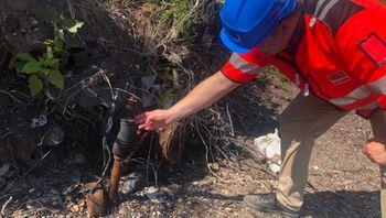 Langøyene avfallsdeponi i Oslofjorden skal tildekkes. Steinar Sidselrud, sjef for forurensningsseksjonen i Eiendoms- og byfornyelsesetaten og prosjekteier for Miljøtiltak Langøyene