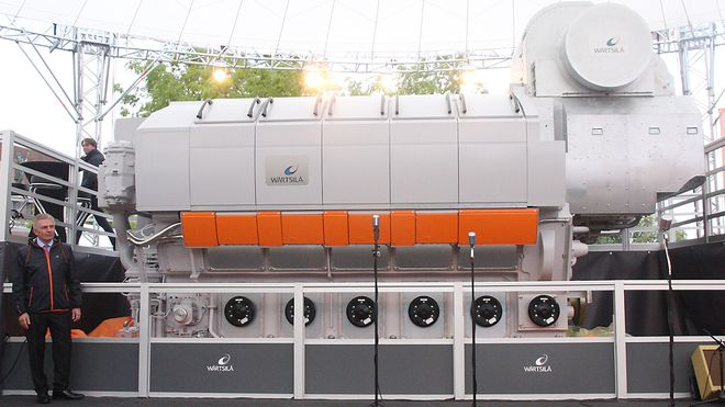 Fullskala ammoniakkmotor testes på Stord – verdens første
