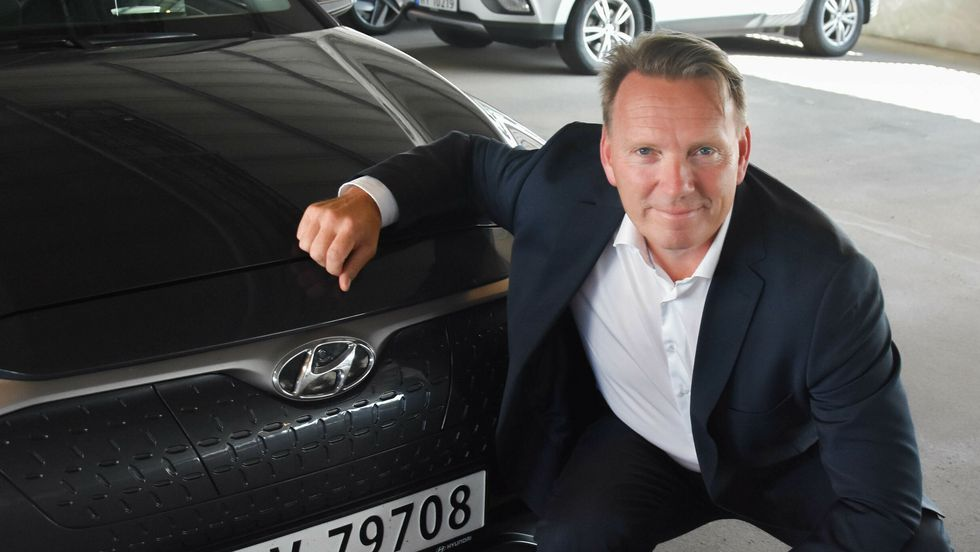 Thomas Rosvold, daglig leder for Hyundai Motor Norway.