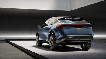 Nissan Ariya-konseptet.