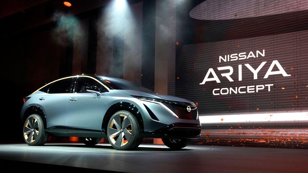 Konseptbilen Ariya skal lanseres i endelig utgave i midten av juli.