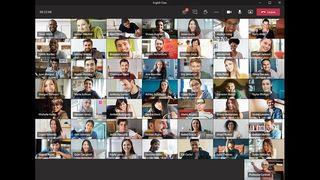 Microsoft Teams skal snart få støtte for visning av 49 samtidige deltakere, i tillegg til møtelederen.