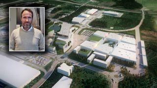 Thor Thoeneie OAC Vedal gardermoen airport city smartby byutvikling