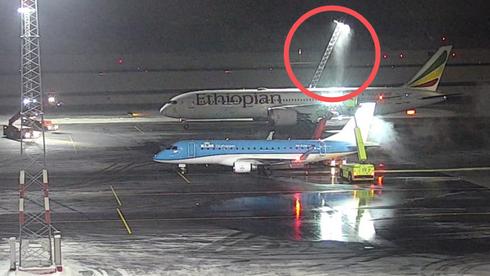 Her blir Dreamliner-flyet ledet på ville veier ved Gardermoen