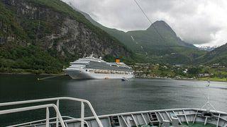 Vil laste om cruiseturister til nullutslippsskip i verdensarvfjord: Krever stor utbygging