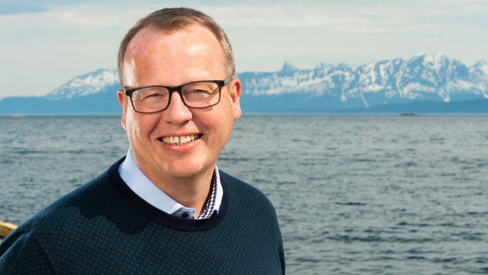 Torgeir Torgersen er designer og prosjektleder i Harstad-baserte NSK Ship Design.