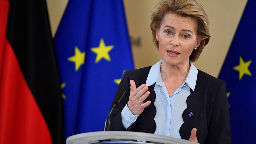 EU-kommisjonens sjef Ursula von der Leyen mener grønne satsinger vil bli avgjørende for å løfte europeisk økonomi ut av koronakrisen. Onsdag legger EU-kommisjonen fram en ny strategi for energimarkedene som skal vise vei til en klimanøytral økonomi.