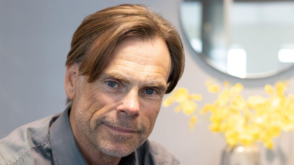 Crayonleder Rune Syversen skal være mentor for en leder på vei mot toppjobb.
