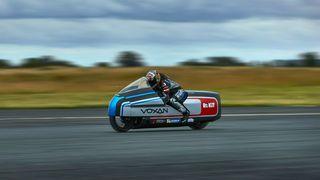 Tørris skal sikre verdensrekord for elektrisk motorsykkel
