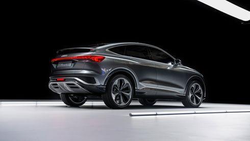 Audi viser frem en Sportback-utgave av Q4 E-Tron.