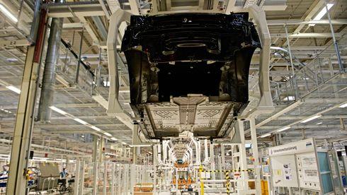 Fra produksjonen av VW ID.3 i Zwickau.