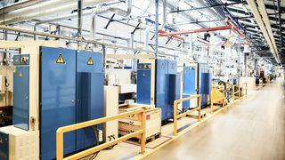 Tyske industribedrifter som Bosch, Siemens, og her Trumpf har i dag private lukkede 5G-nettverk på fabrikkene sine; helt utenom teleselskapene.