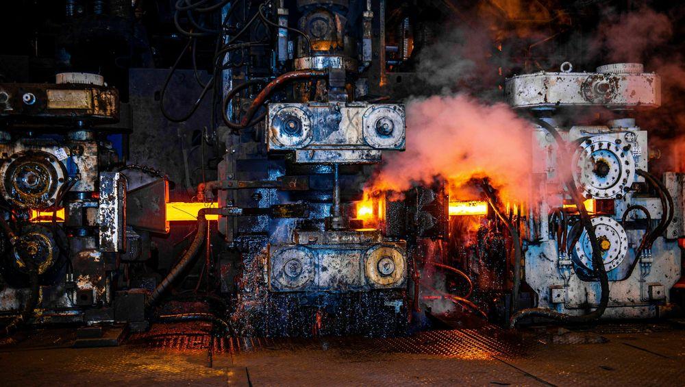 Her blir stålet valset i Mo i Rana. Celsa vil drive ovnen som varmer stålet før valsing med hydrogen.
