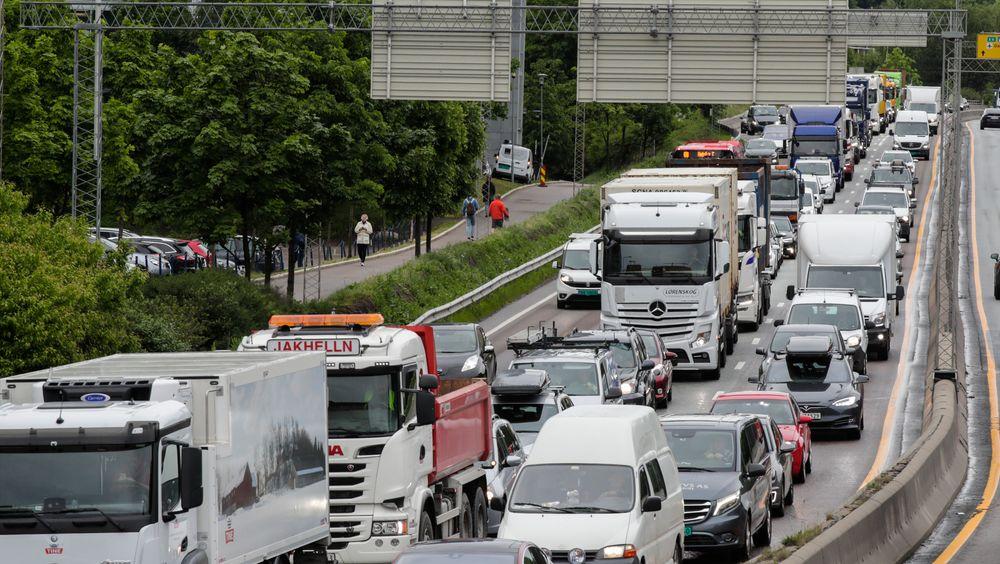 Utslippene fra trafikken skal videre nedover i årene som kommer.